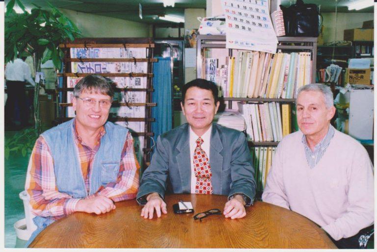 intervista giornale di Naha Okinawa con M° Takayoshi Nagamine
